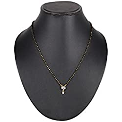 Ds Black Alloy Mangalsutra For Women