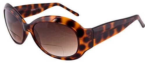 Remaldi Lesebrille Sonnenbrille UV400 Neapel Bifokal Sonnenleser Schildkröte 1.25