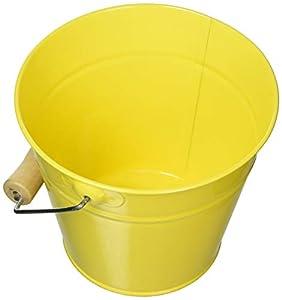 Woodyland 102191466 - Cubo de jardín, Color Amarillo