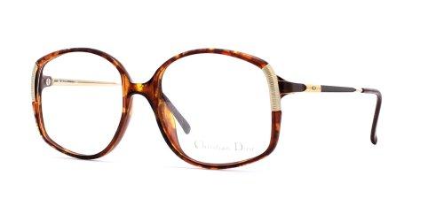 Christian Dior Damen Brillengestell Braun braun