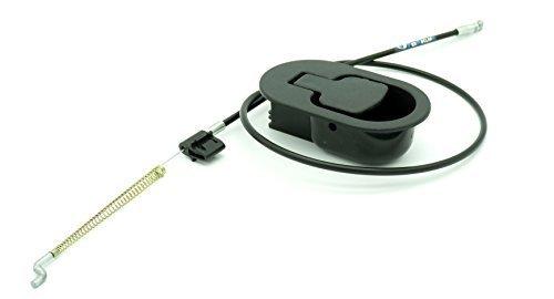 Hebel mit Kabel Sessel und Liege sofa Entspannung Kunststoff schwarz Kabel 15 CM Veröffentlichung (Heavy-duty-fass)