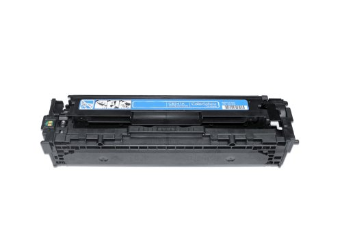 Preisvergleich Produktbild Toner kompatibel zu HP Color Laser Jet CP 1210 1213 1214 1215 1216 1217 1510 1513 1514 1515 1516 1517 1518 1519, CM 1312 1512 N CI CB EB EI WB WI A H W NI NFI MFP, 1x cyan / blau, 1.400 Seiten, ersetzt 41A, CB541A, 125A
