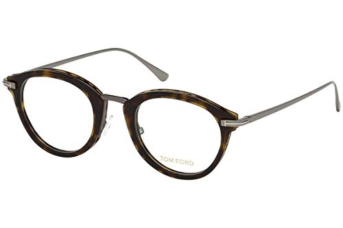 Tom Ford FT5497 Brillen 48-22-145 Dankel Havana Mit Demonstrationsgläsern 052 TF5497 FT 5497 TF 5497