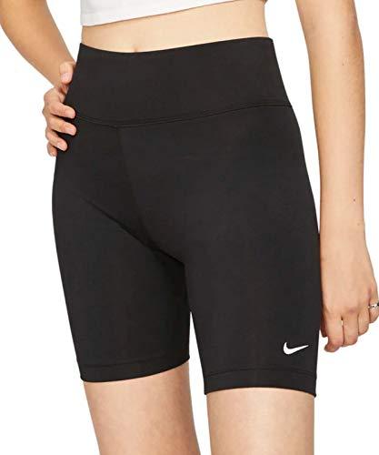 Nike Damen NSW Legasee Bike Shorts, Black/White, M