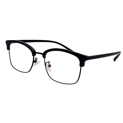 XYAS Front shape Korean style eyebrow design Unisex(mens/womens) glasses frame Super light Metal glasses