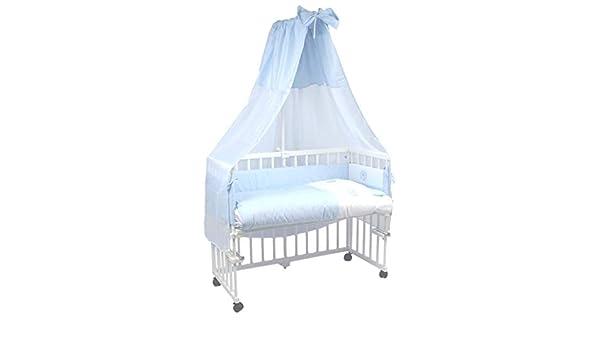 Mamaloes beistellbett baby komplett mit rollen und matratze