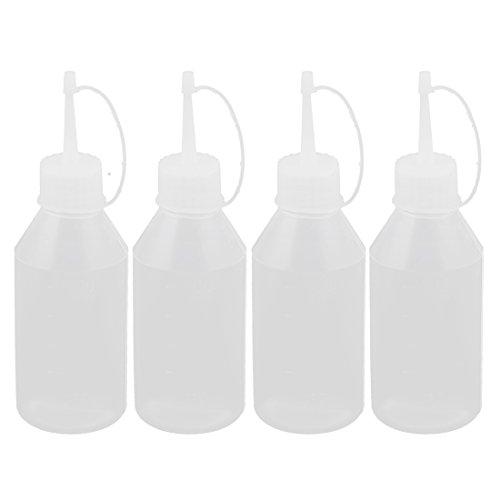 Küche Sauce Essig Ketchup Squeeze Flasche Spender 100ml 4