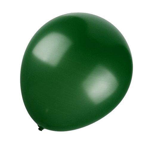 Preisvergleich Produktbild 36inch Luftballons Latexballons,  33cm,  für Hochzeit Partei Geburtstag Dekor - Grün