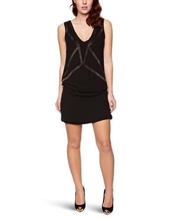 Soaked In Luxury Rubina Sleeveless Women's Dress Black X-Large