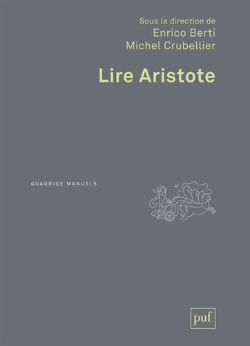 Lire Aristote par Enrico Berti