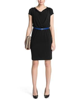 ESPRIT Collection Damen Kleid (knielang) Q23691, Gr. 36 (S), Schwarz (001 Black)