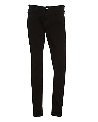 Armani Jeans Men's Slim Fit J06 Jeans Black