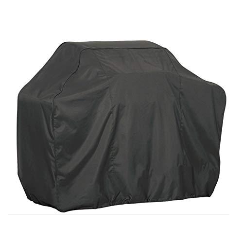 Hwl mobili copertura copertura nera della griglia del gas del bbq, barbecue resistente impermeabile uv e resistente allo sbiadimento, protezione for qualsiasi tempo all'aperto (size : 80×66×100cm)