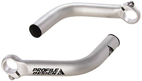 Profile Designs Boxer Bar End, Unisex, BEBO2, Silber, 137mm - End-rahmen