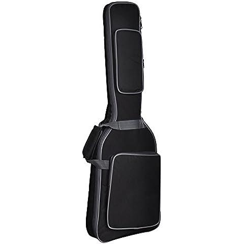 GEEDIAR® Impermeable Tela 600D Oxford Estilo Correas Acolchadas Guitarra Bolsa Funda para 41 Pulgadas/103CM Guitarra Clásica Eléctrica
