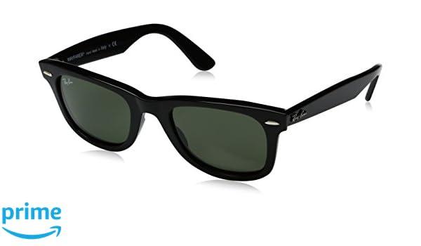 RAYBAN Rb2140, Montures de Lunettes Mixte Adulte, Noir (Black Crystal  Green), 50  Amazon.fr  Vêtements et accessoires 748c7ed79dfd