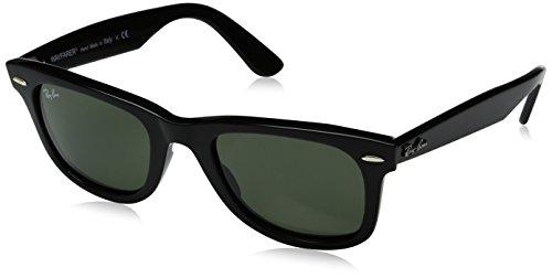 Ray-ban rb2140-901 occhiali da sole, nero, 50