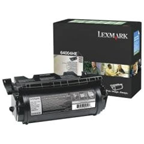 Lexmark 64004HE Toner Return Program, Nero