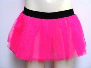Glänzendes Neon Pinkes Tütü für den - Herren Rock Gott Kostüm