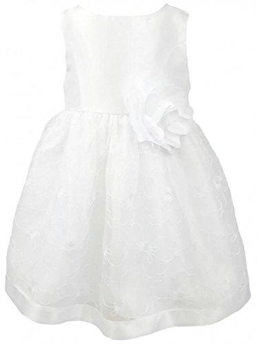 Youngland Entzückendes, bequemes Petticoatkleid in weiß Gr. 68,74,80 Größe 74 - Outfits Mädchen Youngland Für
