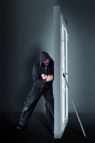 Schellenberg Türkralle Sicherung für Haus- und Wohnungstür Türsicherung Türstopper zum Schutz vor Einbrüchen
