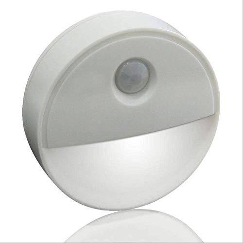 Menschlicher Körper Induktionslampe Startseite Wandschrank Nachtlicht Intelligente Treppenwand Nachtlichtweißes Licht ()