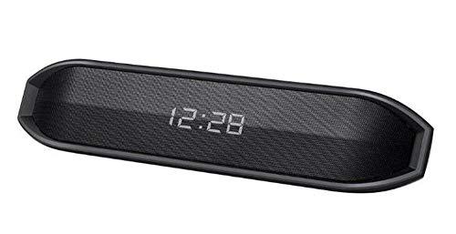 Altavoz Bluetooth Altavoz inalámbrico con Doble LED Reloj con Sonido 10W Subwoofer...