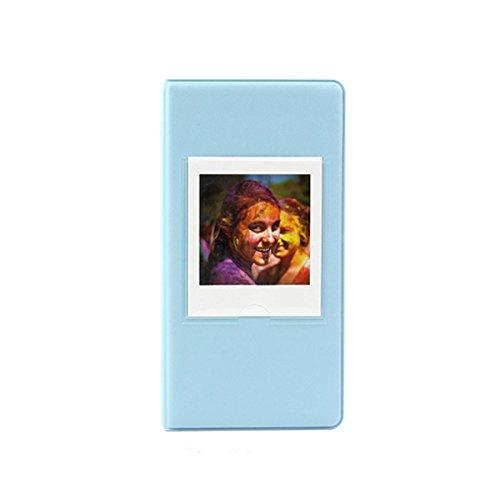 JXE Fotoalbum, für Sofortbilder von Fujifilm Instax Square SQ10,Sofortbildkamera, 64 Steckplätze