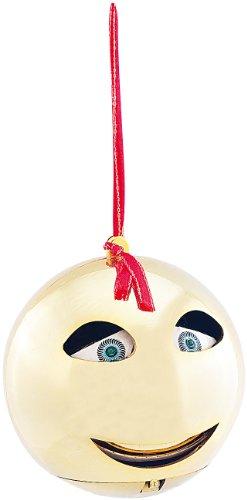 infactory Singende Weihnachtskugel: Singende & sprechende Weihnachtsbaumkugel (Sprechende Weihnachtskugel)