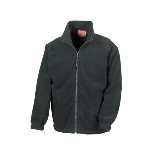 Result R036X Full Zip Active Fleece Jacket Black* 3XL