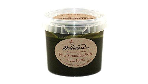 Pasta Pistacchio Sicilia Pura 100% per Gelati Pasticceria prodotto a Bronte
