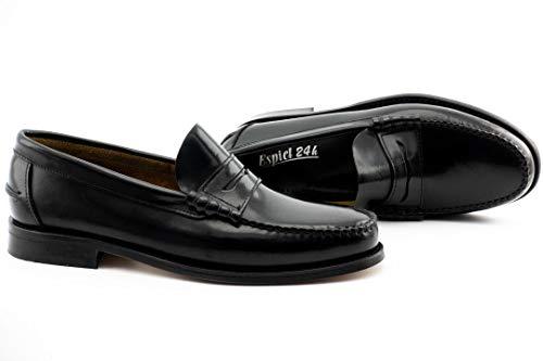 Zapato Hombre Castellano Antifaz - Hombre Color: Negro Talla: 44