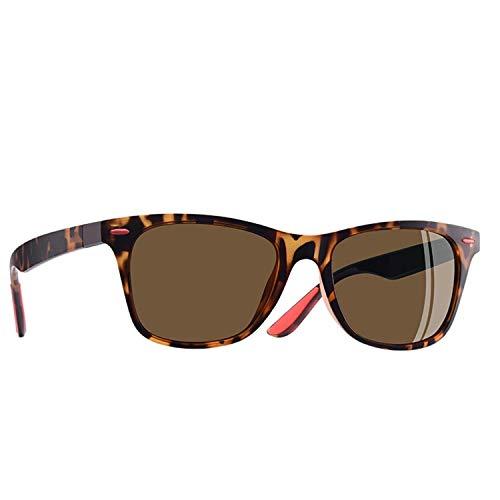 Sport-Sonnenbrillen, Vintage Sonnenbrillen, Classic Polarized Sunglasses Men Women Driving Square Frame Sun Glasses Male Goggle UV400 Gafas De Sol AF8083