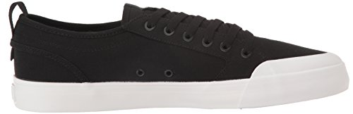 DC - - Männer Evan Smith S Low Top Freizeitschuh Black/White