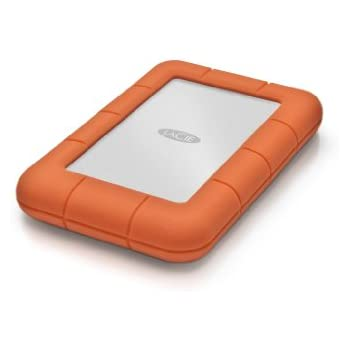 LaCie - Rugged Mini 1TB USB 3.0 Portátil 2.5' Disco duro externo para Mac y PC