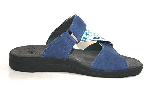 Think Dreda 84452 Damen Clogs & Pantoletten Blau (CAPRI/KOMBI 84)