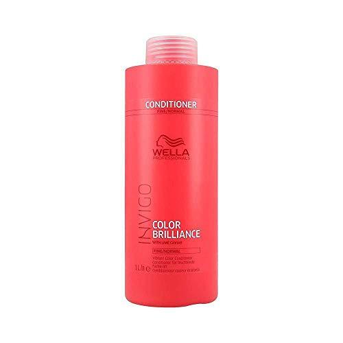 Wella INVIGO Color Brilliance Vibrant Conditioner Fine, 1000 ml - Antioxidant Conditioner