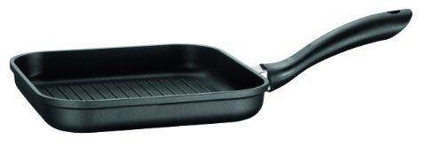 Mäser, Serie Dione, Grillpfanne 24 cm, antihaftbeschichtet, mit schwarzer ILAG-BASIC-Beschichtung, in der Farbe Schwarz