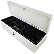 Phoenix Technologies PHCAJONBLANCOVERTI - Cajón portamonedas vertical automático, blanco/beige