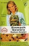 Alba Gurken-Einmach-Gewürz 30 g - reicht für 5 kg Gurken