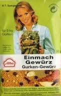 Alba Gurken-Einmach-Gewürz 20 x Beutel á 30 g