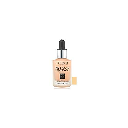 Catrice hd foundation sand beige 030 coverage liquid