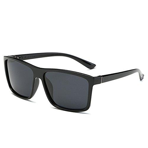 BLDEN Polarisierte Wayfarer Aviator Sonnenbrille für Mann und Frau Retro Vintage Al-Mg Metall Super Leichtgewicht Rack