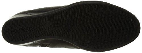 Geox D6267A0BV21, Scarpe Alte Donna Nero (Blackc9999)