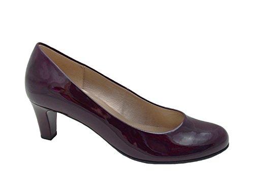 Gabor - Bombas Senhoras Sapatos Em Tamanhos Mais Vendas Merlot +