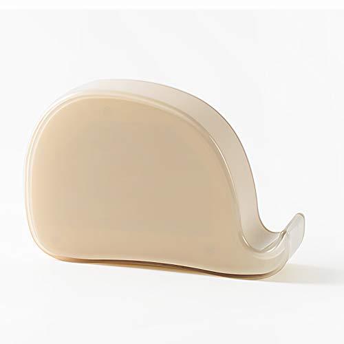 LOTOS LED Baleine Réveil Gravité Capteur Heure Date Alarme Snooze Veilleuse Multifonction Intelligent Réveil Électronique,Pink