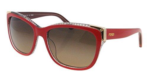 FENDI Damen Sonnenbrille & GRATIS Fall FS 5212 615