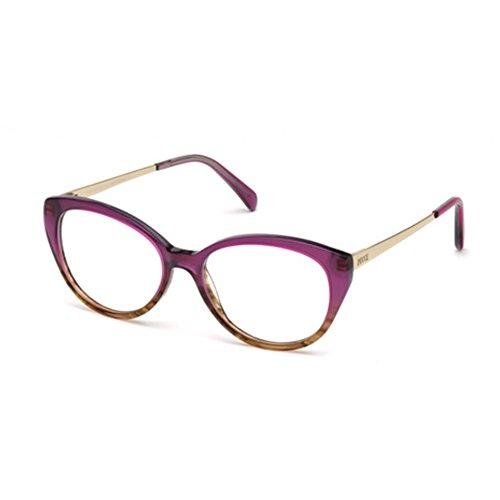 Emilio pucci ep5063, occhiali da sole unisex-adulto, viola, 53.0