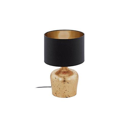 Eglo manalba E2760W LED A + + Schwarz, Kupfer Tischleuchte