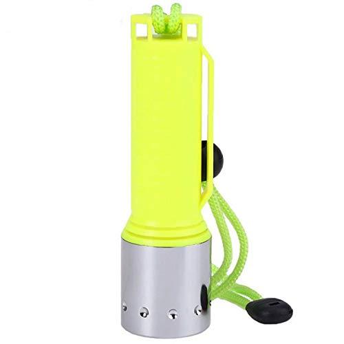 DOGZI Led Taschenlampe Verstellbar, Baumarkt Eisenwaren - 3500LM XM-L T6 LED Unterwasser 130M Tauchen Taschenlampe Fackel 18650
